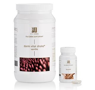 Beate Johnen Darm Vital Shake 600 g + Florafit 60 Kps.